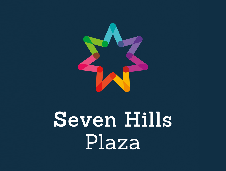 Seven Hills Plaza branding