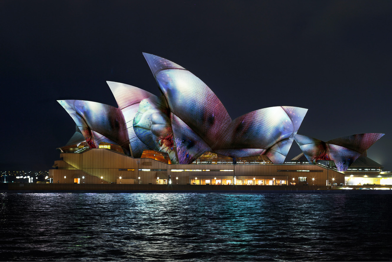 Sydney Opera House Vivid Live 17 - Lighting Sails